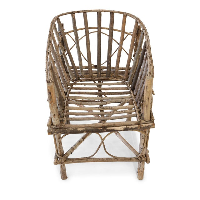 Antique French Twig Chair For Sale - Image 9 of 13