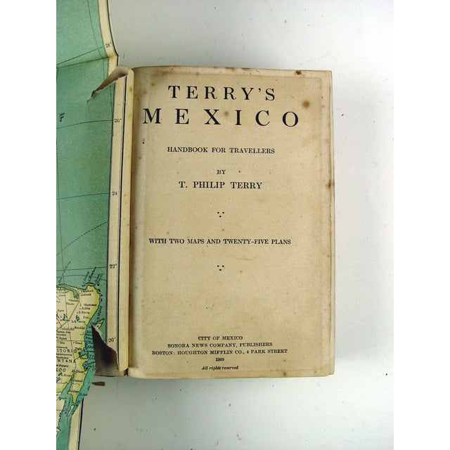 Terry's Guide to Mexico with Maps, 1909 - Image 4 of 5