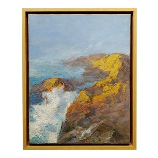 "Anna Hills ""Laguna Beach Rocky Coastline"" Oil Painting For Sale"