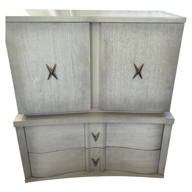 Unagusta 1950s Mid Century Tall Boy Dresser - Image 1 of 7