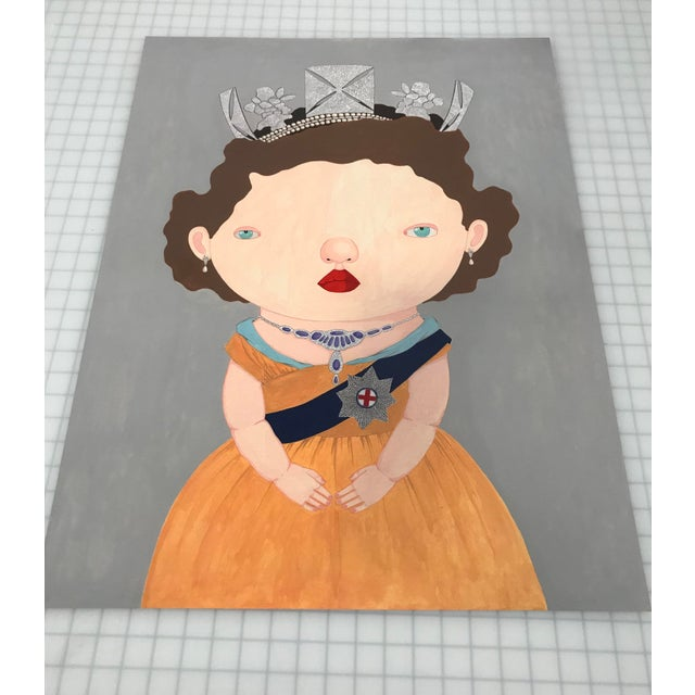 """""""The Last Reigning Queen """" Print by Charles Benton For Sale - Image 4 of 9"""