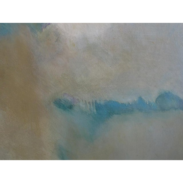 Early 21st Century Large Abstract 'Destiny' Painting Signed 'Sally Chiu 2002' For Sale - Image 5 of 9