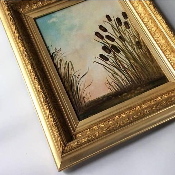 Antique American Landscape Painting - Image 3 of 6