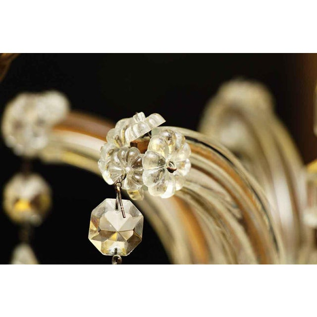 Marie Therese Crystal Antique Chandelier For Sale - Image 11 of 12