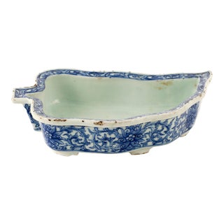 Handmade Chinese Porcelain Bonsai Tray For Sale