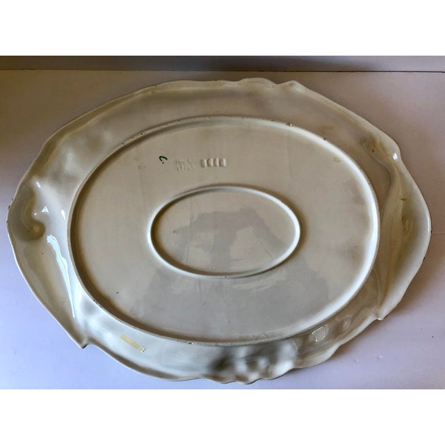 Mid 20th Century Vintage Italian Pottery Duck Platter For Sale - Image 5 of 8