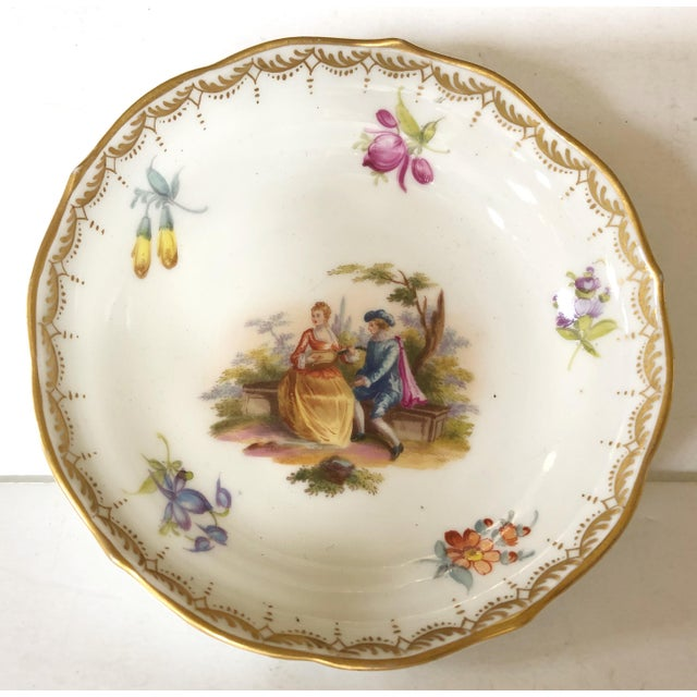 Meissen Porcelain Meissen Catchall For Sale - Image 4 of 4