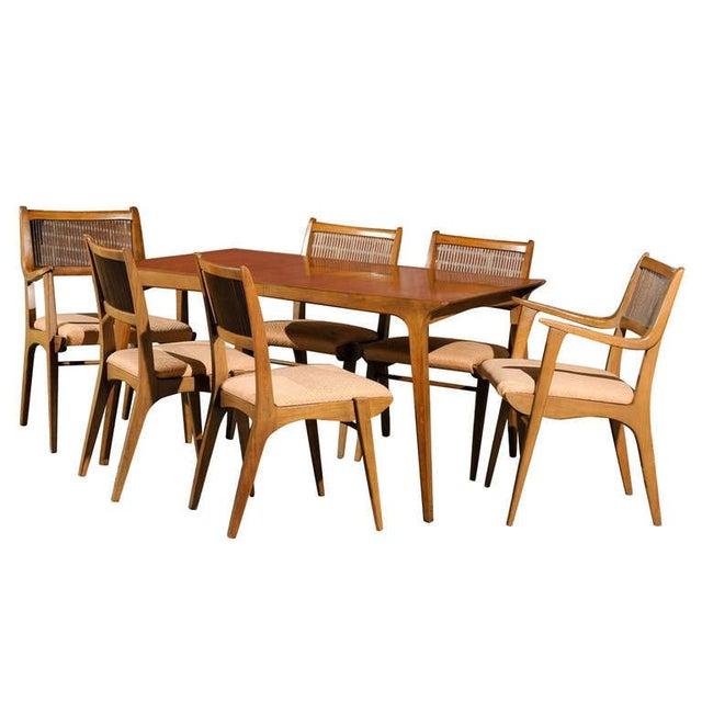 Modernist Dining Set by Van Koert for Drexel For Sale