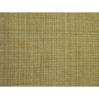 1970s Danish Modern Kaufmann Couch Upholstery Fabric Linen Weave - 5.5 Yards For Sale