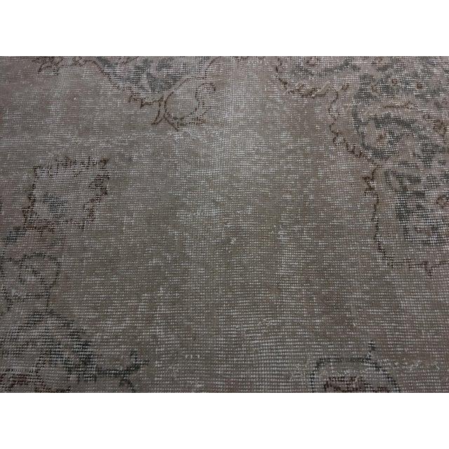 "Bellwether Rugs Vintage Distressed Turkish Oushak Rug - 7'1"" X 10'9"" - Image 7 of 11"