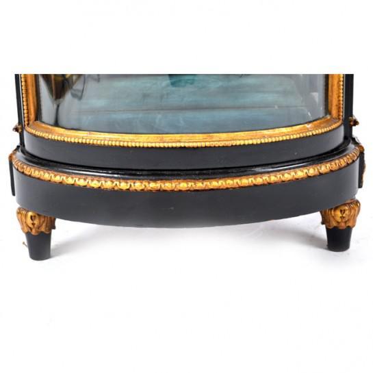Black 19th Century Antique Sweden Gustavian Cabinet For Sale - Image 8 of 13