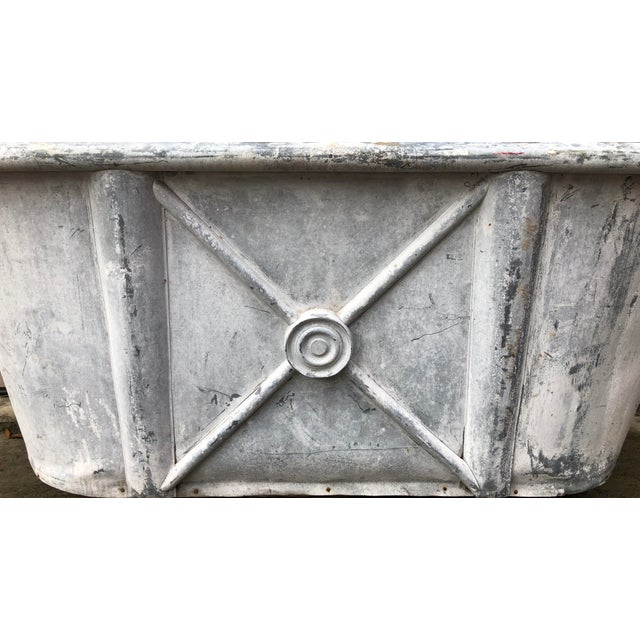 French 19th Century Antique French Bathtub For Sale - Image 3 of 11