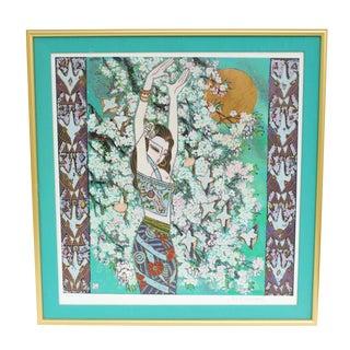 Tang Da-Kang Chinese Modernist Print For Sale