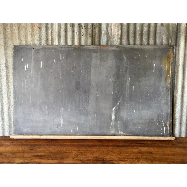 1920s Schoolhouse Slate Chalkboard - Image 2 of 8