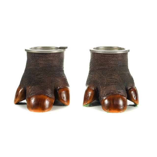 Vintage Faux-Taxidermy Ashtrays - A Pair - Image 2 of 9