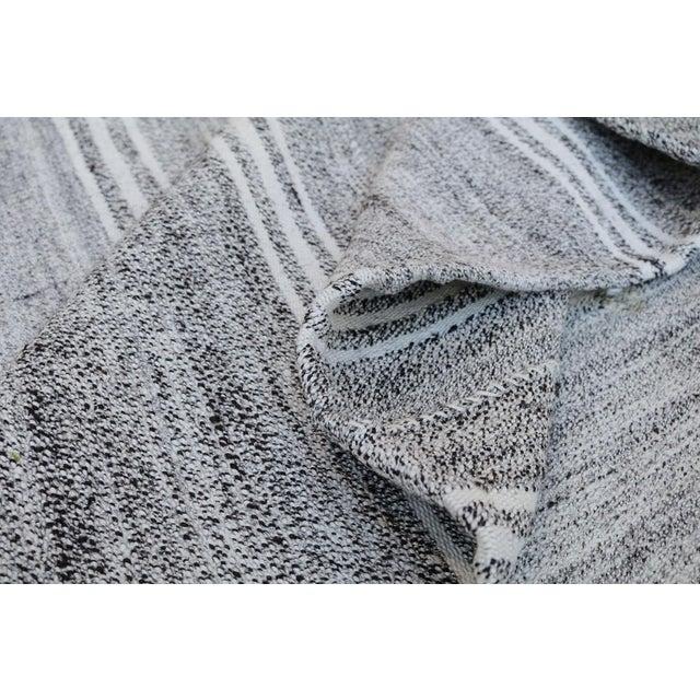 "Turkish Vintage Flat-Weave Textile - 7'3"" X 10' - Image 2 of 4"