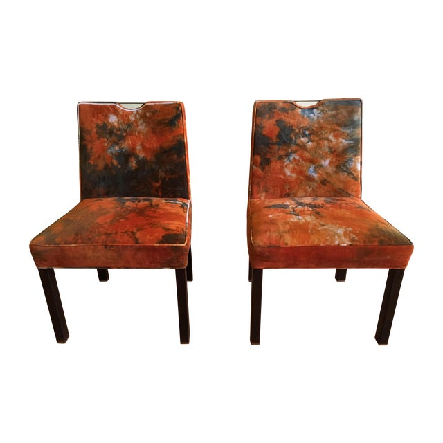 Edward Wormley for Dunbar Side Chairs - A Pair - Image 1 of 7