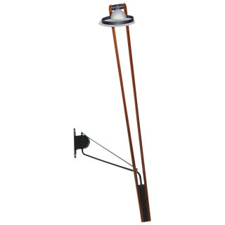Italian High Tech Adjustable Wall Light With Swing Arm For Sale