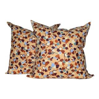Missoni Home Monogram Cotton Down Pillows - a Pair For Sale