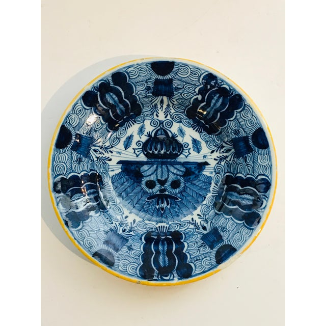 18th Century 18th Century Delft Plate For Sale - Image 5 of 5