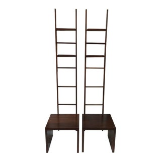 Philippe Starck for the Delano Hotel, Teak Ladder and Bench For Sale