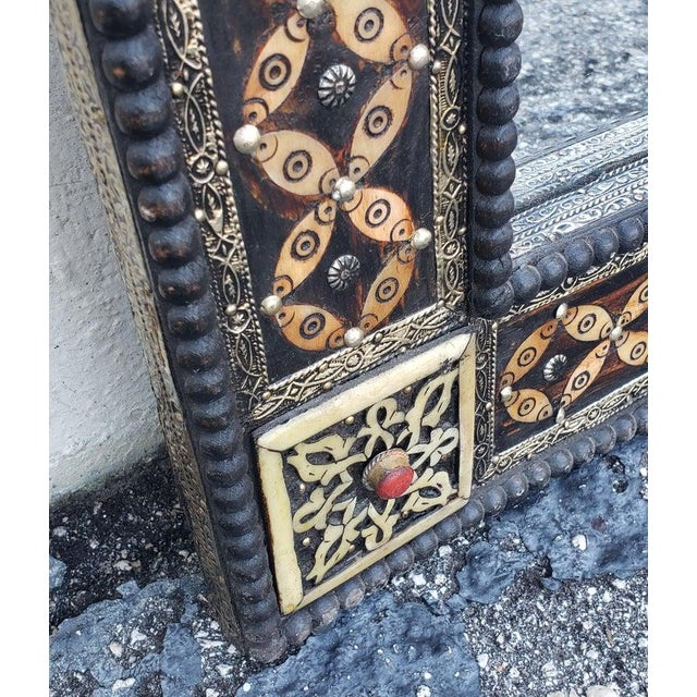 Marrakech Rectangular Inlay Mirror For Sale - Image 4 of 7