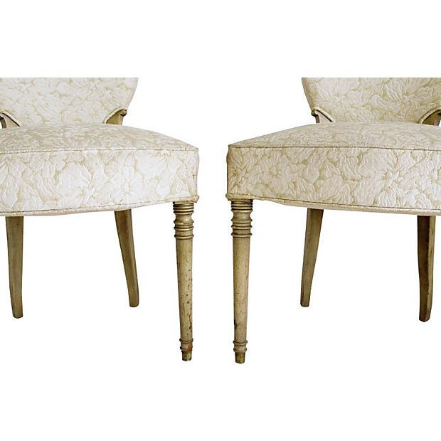Edwardian Brass Rope Handle Chairs - A Pair - Image 5 of 7