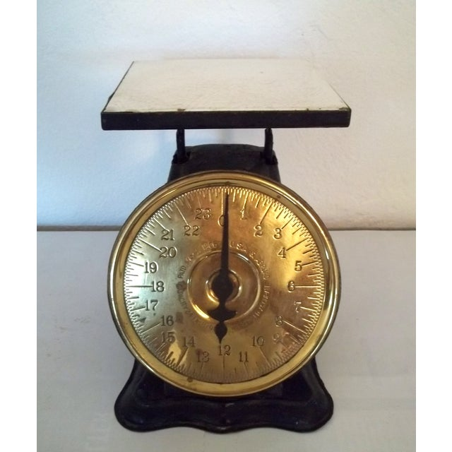 Antique Brass American Kitchen Scales - Image 5 of 5