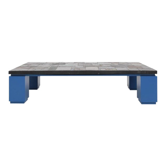 Pia Manu One Of A Kind Ceramic Tile Coffee Table For