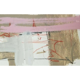 Jose Trujillo Contemporary Abstract Modernism Design Horizontal Acrylic Painting For Sale