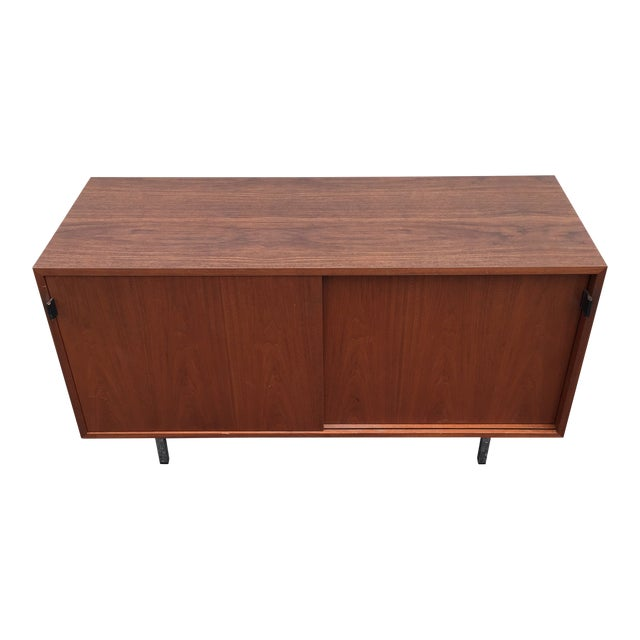 1960s Mid-Century Modern Florence Knoll Credenza For Sale