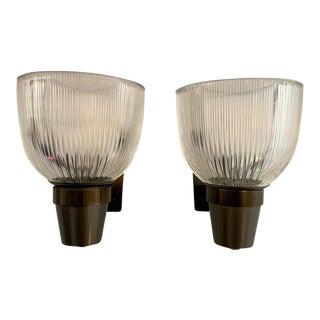 1960s Ignazio Gardella Azucena Italian Lp5 Wall Lamps - a Pair For Sale