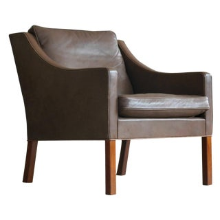 Børge Mogensen Model 2207 Lounge Chair For Sale