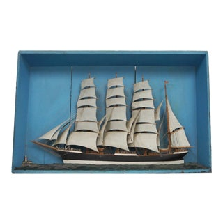 Rustic Sailing Ship Diorama