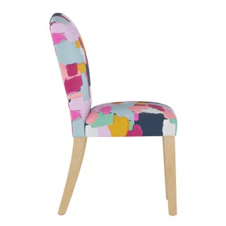 Camel Back Dining Chair in Joyful Navy Oga Preview