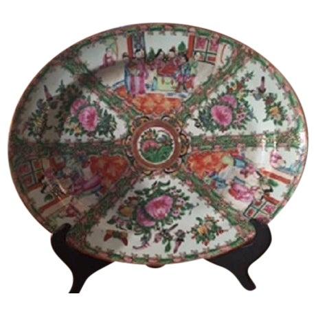 Vintage Rose Medallion Platter - Image 1 of 5