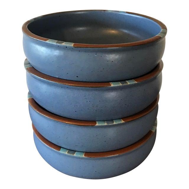 Dansk Mesa Blue Cereal Bowls - Set of 4 - Image 1 of 6