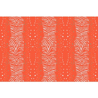 Zebra Firenze Linen Cotton Fabric, 6 Yards For Sale
