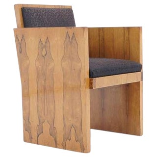 Rosewood Art Deco Armchair