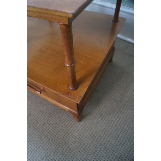 Heritage Henredon Mid Century End Tables - Image 9 of 10