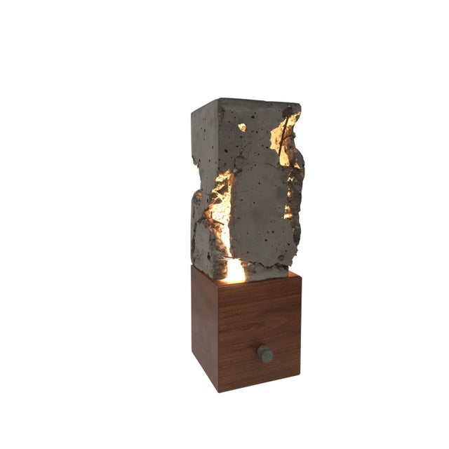 Walnut Wood Tabletop Scarpa Light For Sale - Image 9 of 9