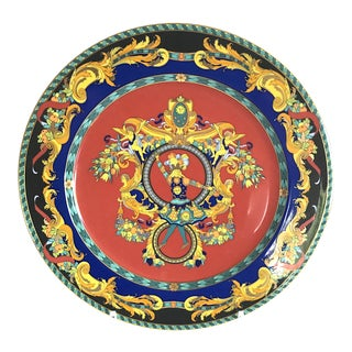 Versace Plate With Stand For Sale