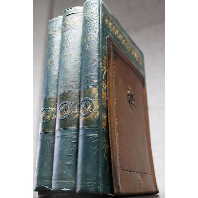 Roycroft Hammered Copper Bookends - A Pair For Sale - Image 10 of 10