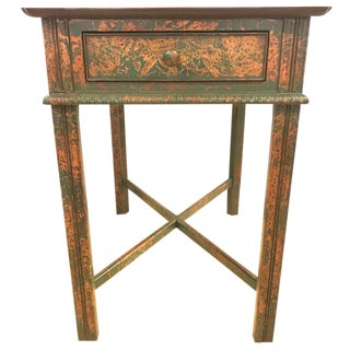 Chinoiserie Decorated End Table by South Hampton Furniture For Sale