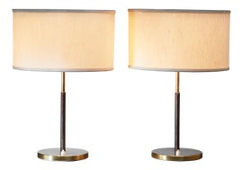 Image of Leather Table Lamps