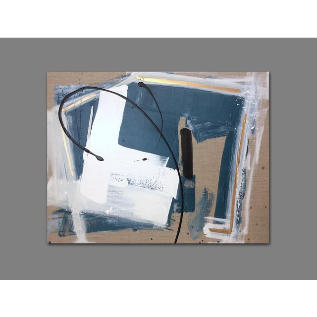 'GEHRY' original abstract painting by Linnea Heide - Image 7 of 8