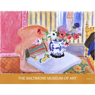 Henri Matisse-Anemones and Chinese Vase-2005 Poster For Sale