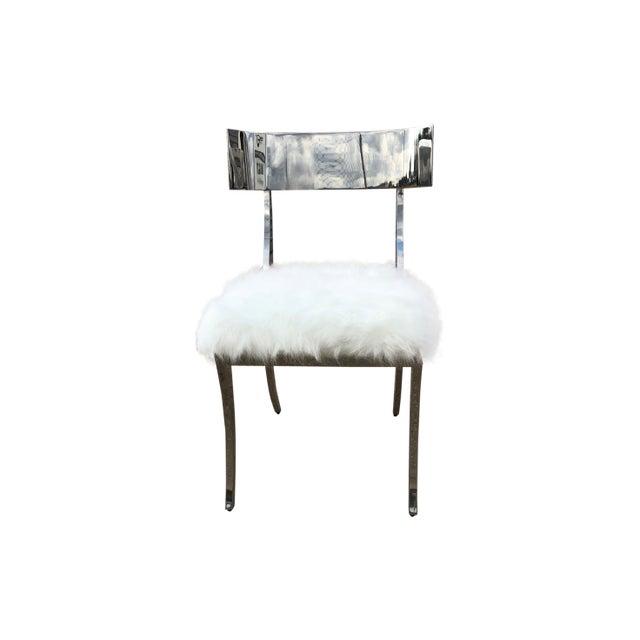 Bernhardt Gustav Metal Chair For Sale In Dallas - Image 6 of 6