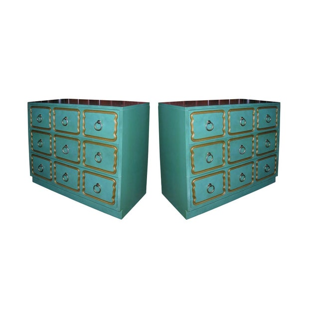 The most well-known, the España Bunching chest, was designed by Dorothy Draper in the 1950s at the request of the Spanish...