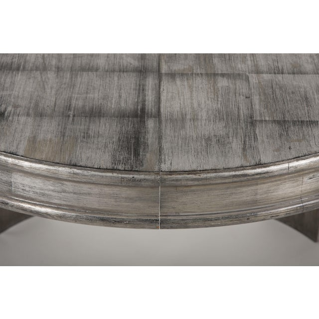 Brown Silver Leaf Dining Table by James Mont For Sale - Image 8 of 13